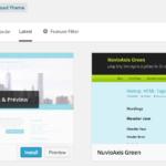 WordPress 3.9 New Theme Uploader