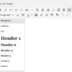 WordPress 3.9 New TinyMCE Version