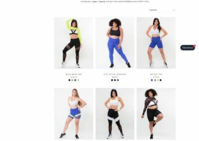 Press Wizards web design portfolio Shopify