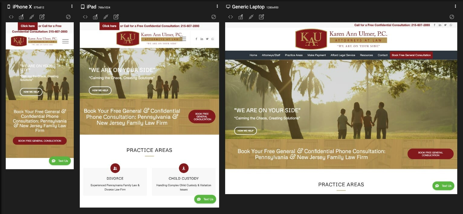 Responsive brochure websites by Press Wizards - Energy Industry
