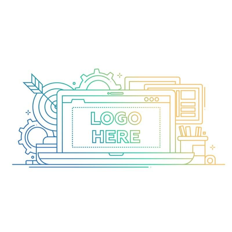 Website logo designs by Press Wizards